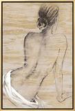 Retreat I Framed Canvas Print by  Saro