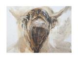 La Vache,Cow, 2015 Giclee Print by Lou Gibbs