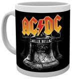 AC/DC Hells Bells Mug Taza