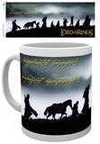 Lord Of The Rings Fellowship Mug Mug