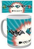 Justice league JL Badges Mug Mug