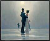Dance Me to the End of Love Framed Canvas Print by Jack Vettriano