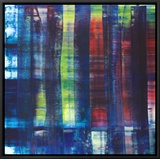 Abstract Painting, c.1992 Framed Canvas Print by Gerhard Richter