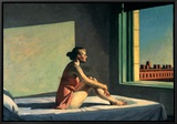 Morgensonne, c.1952 Framed Canvas Print by Edward Hopper