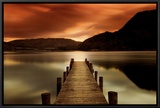 Ullswater, Glenridding, Cumbria Framed Canvas Print by Mel Allen