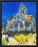 Church at Auvers, c.1895 Framed Canvas Print by Vincent van Gogh