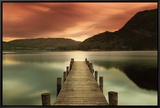 Ullswater Framed Canvas Print by Mel Allen