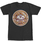 Star Wars The Force Awakens- BB-8 Astromech Badge T-Shirt