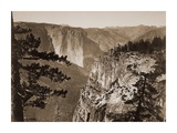 First View of the Valley, Yosemite, California, about 1866 Posters by Carleton Watkins