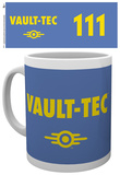 Fallout 4 Vault Tech Mug Tazza