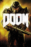 Doom- Armored Marine Affiche