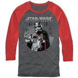 Long Sleeve: Star Wars The Force Awakens- Phasma's Squadron Long Sleeves