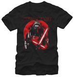 Star Wars The Force Awakens- Kylo Ren Red Sun T-Shirt