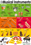29 Musical Instruments Plakater
