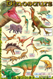 Dinosaurier Kunstdruck