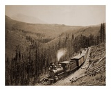 Marshall Pass, Colorado, Westside, 1880-1881 Prints by William Henry Jackson