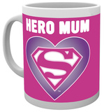 Superman Heart Mother's Day Mug Taza