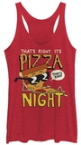 Juniors Tank Top: Uncle Grandpa- It's Pizza Night T-shirts