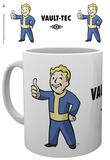 Fallout 4 Vault Boy Mug Taza