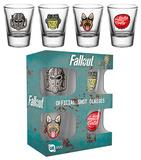Fallout 4 - Icons Shot Glass Set Rariteter