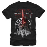 Star Wars The Force Awakens- First Order Menace T-shirts