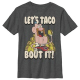 Youth: Uncle Grandpa- Let's Taco Bout It Shirts