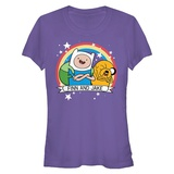 Juniors: Adventure Time- Jake & Finn Forever Shirts