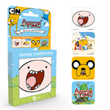 Adventure Time Mix Coaster Set Lasinaluset