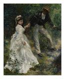 La Promenade Art by Pierre-Auguste Renoir