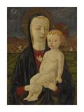 Madonnan och barnet Planscher av Paolo Uccello