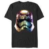 Star Wars The Force Awakens- Solar Chrome Phasma T-shirts