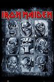 Iron Maiden- Eddies Collection Posters