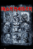 Iron Maiden- Eddies Collection Poster