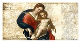 Madonna and Child (after Procaccini) Prints by Simon Roux