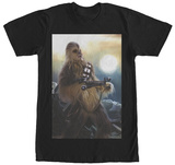 Star Wars The Force Awakens- Battle Ready Chewie T-Shirt