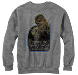 Crewneck Sweatshirt: Star Wars The Force Awakens- Wookie Copilot T-Shirt