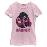 Young Girls: Steven Universe- Garnet Scowl T-shirts