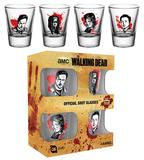 The Walking Dead - Characters Shot Glass Set Originalt