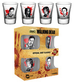 The Walking Dead - Characters Shot Glass Set Novelty