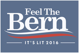 Feel The Bern - It'S Lit Affiches