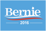 Bernie 2016 (Baby Blue) Prints