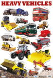 Heavy Vehicles Posters