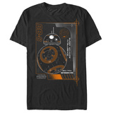 Star Wars The Force Awakens- BB-8 Super Ai Schematic T-shirts