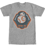 Star Wars The Force Awakens- BB-8 Badge Shirts