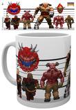 Doom Classic Enemies Mug Krus