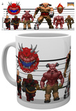 Doom Classic Enemies Mug Tazza