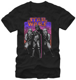 Star Wars The Force Awakens- Phasma's Crew Color T-Shirt