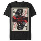 Star Wars The Force Awakens- Kylo Ren Face Card T-shirts