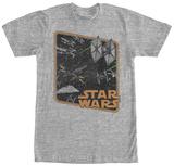 Star Wars The Force Awakens- Stellar Dogfight T-shirts