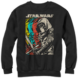 Crewneck Sweatshirt: Star Wars The Force Awakens- Color Scal Ren T-Shirt